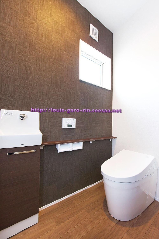 web内覧会☆1階トイレと2階トイレ。ネオレストにすれば・・・失敗